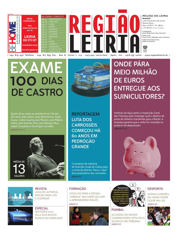 região de leiria 5 de fevereiro de 2010 by região de leiria jornalregião de leiria 5 de fevereiro de 2010 by região de leiria jornal issuu