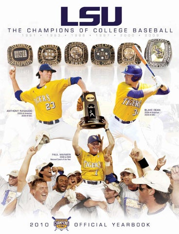 66b857ade 2010 LSU Baseball Official Yearbook by LSU Athletics - issuu