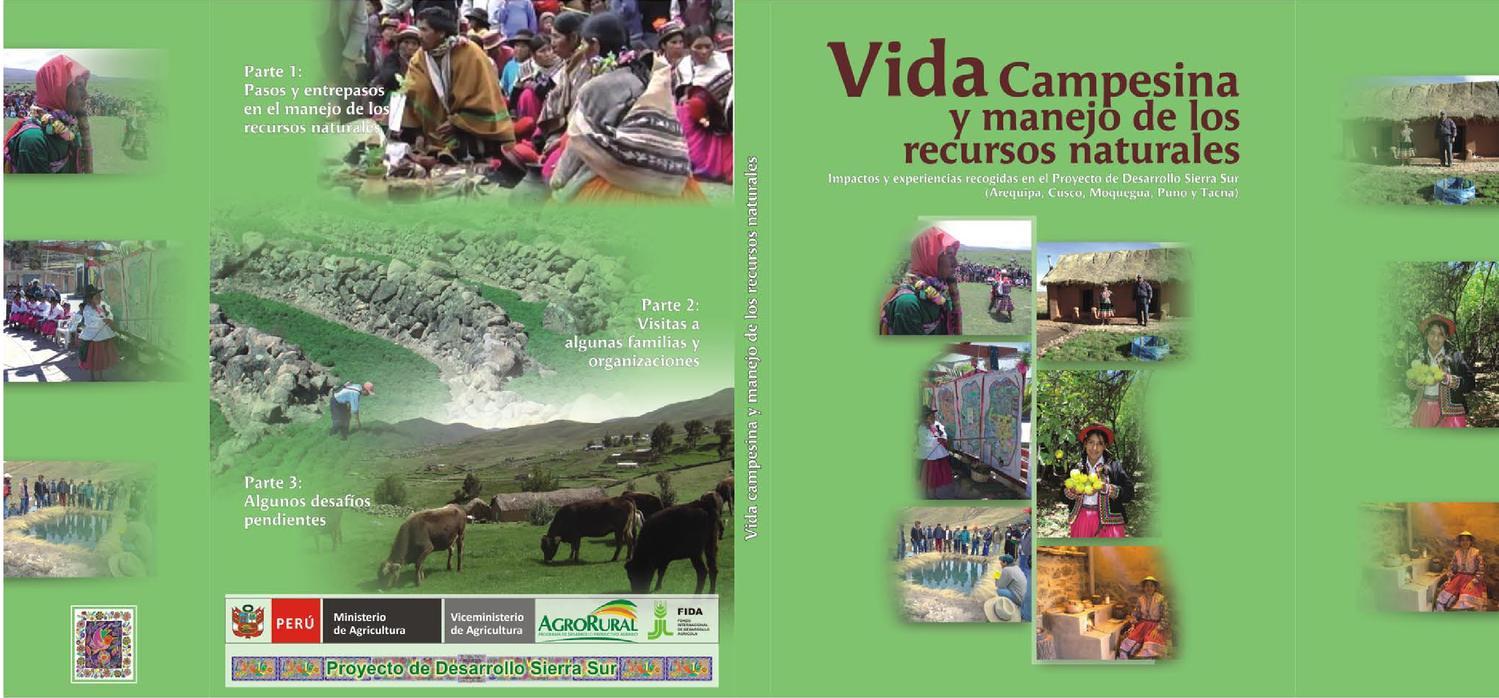 Vida Campesina Y Manejo De Recursos Naturales By Nec