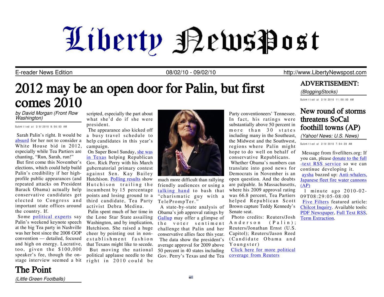 a28ae03fa6566 Liberty Newspost Feb-09-10 by Liberty Newspost - issuu