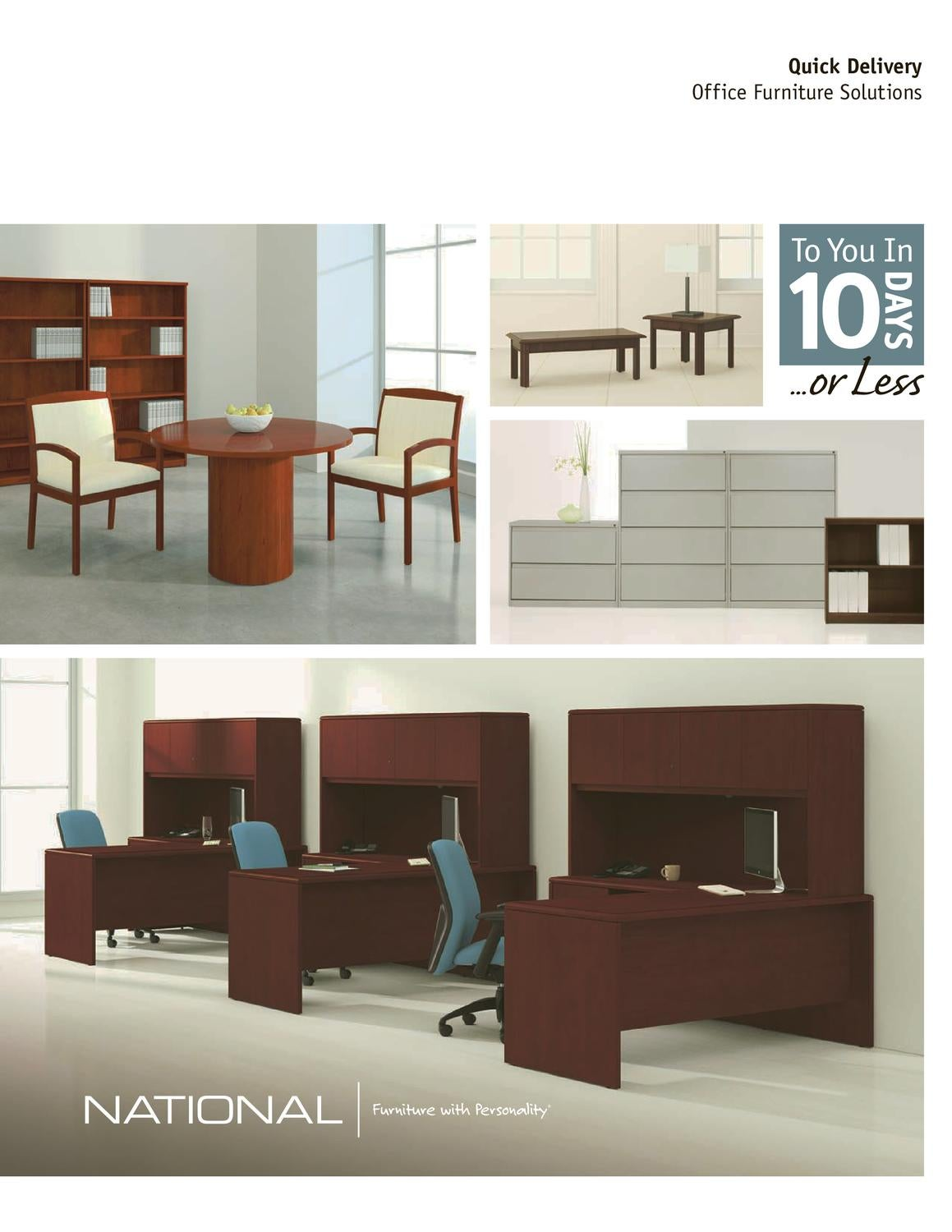 National office furniture quick delivery catalog by rmrm for Furniture quick delivery