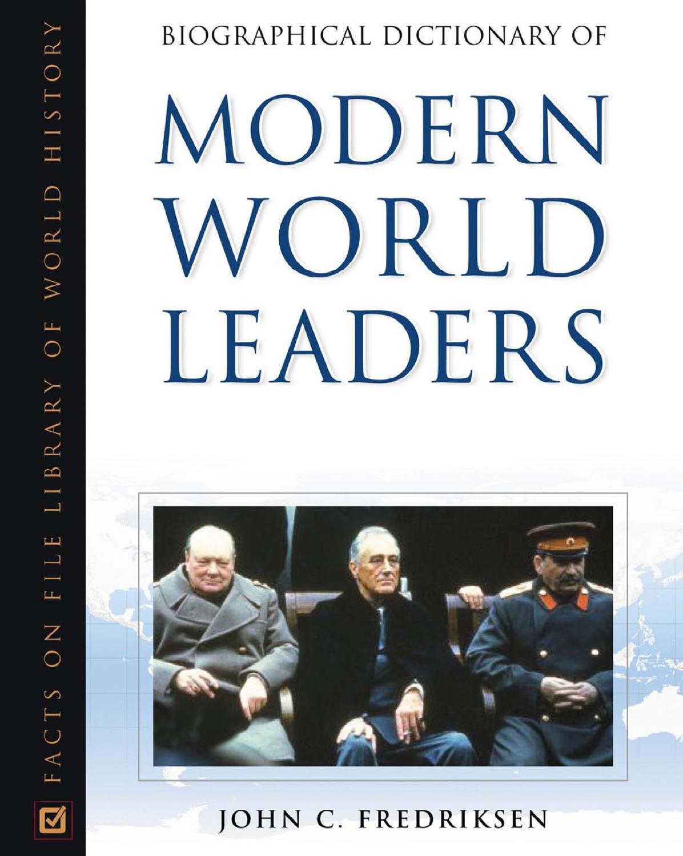 Дэлхийн удирдагчдын намтарын толь бичиг 1-р хэсэг by culture culture - issuu
