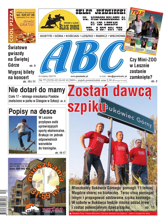 208cb2b171 ABC 02 października 2009 by Sekretarz redakcji - issuu