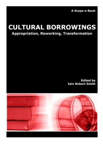Cultural borrowings appropriation reworking transformation by page 1 fandeluxe Choice Image