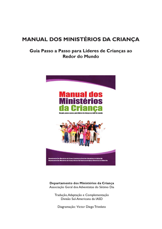 Manual Dos Ministerios Da Crianca By Misa Gruber Issuu