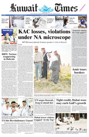 11 Feb 2010 By Kuwait Times Issuu