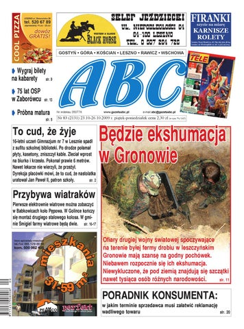 Abc 23 Października 2009 By Sekretarz Redakcji Issuu