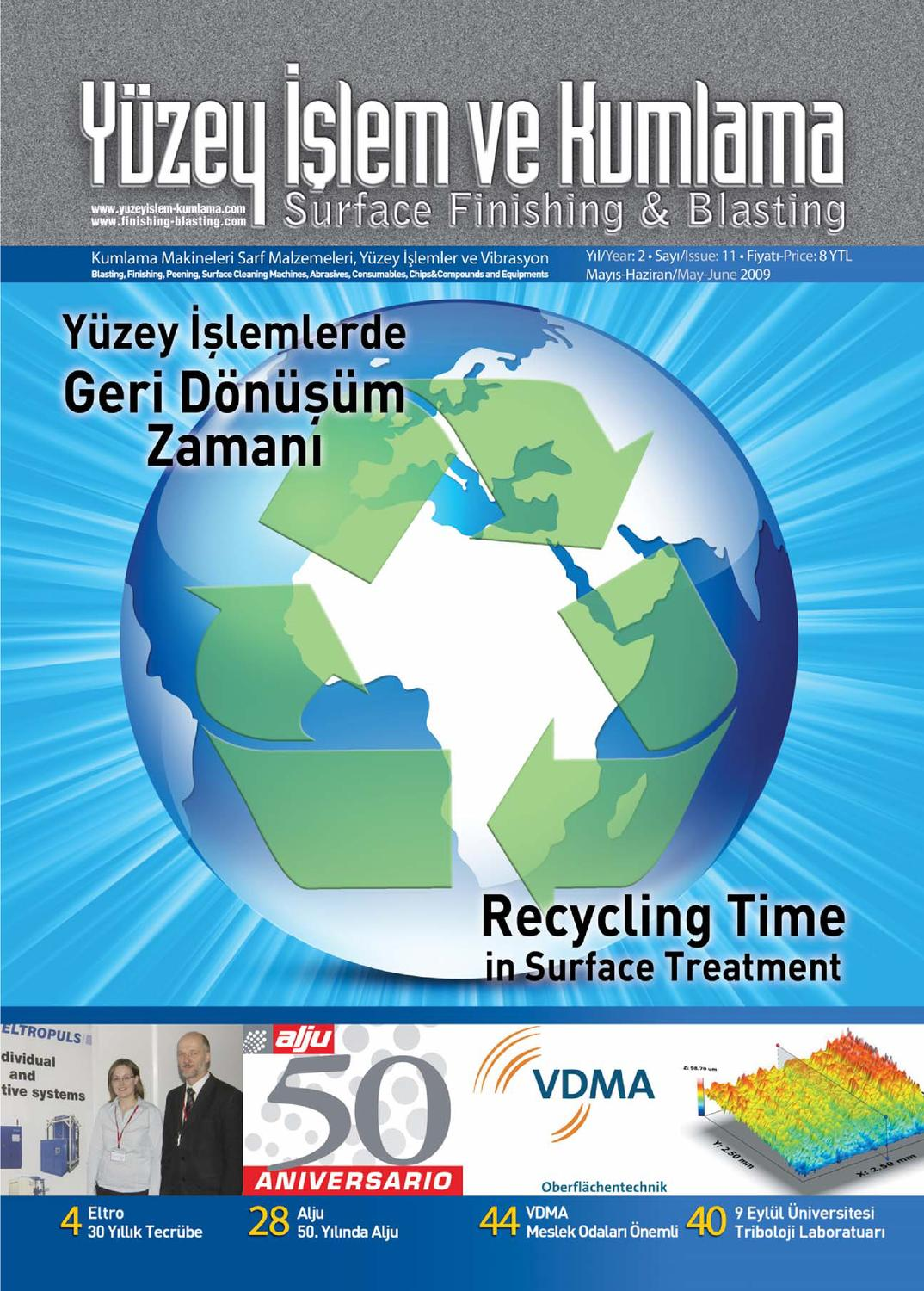 Yuzey Islem Kumlama Dergisi Sayi11 By Surface Finishing Issuu