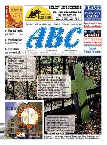 Abc 30 Października 2009 By Sekretarz Redakcji Issuu