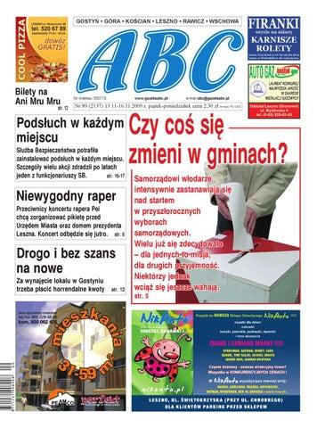 Abc 13 Listopada 2009 By Sekretarz Redakcji Issuu