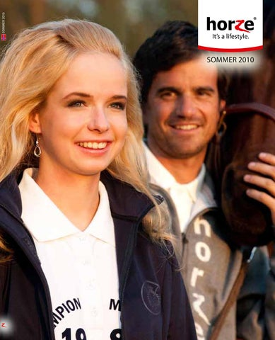 fb1084f0 Horze Summer Catalogue 2010 Norwegian by Horze - issuu