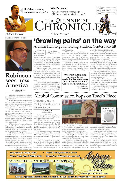 Issue 15 by The Quinnipiac Chronicle - issuu 2620448b3c600