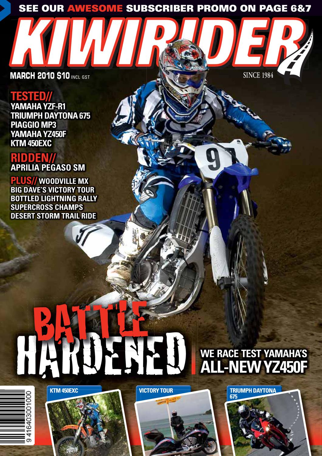 Kiwirider March 2010 By Kiwi Rider Magazine Issuu Drz110 Wiring Diagram