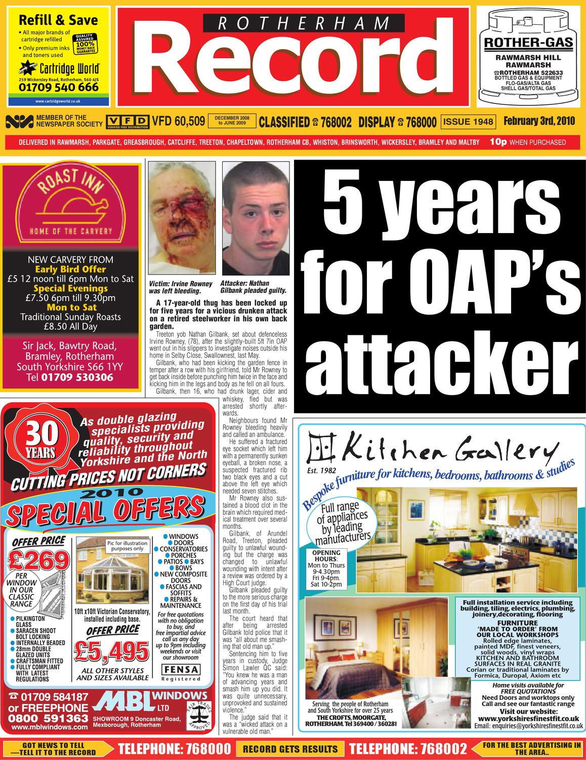 ad6c8a14e4 Rotherham Record by Rotherham Advertiser - issuu