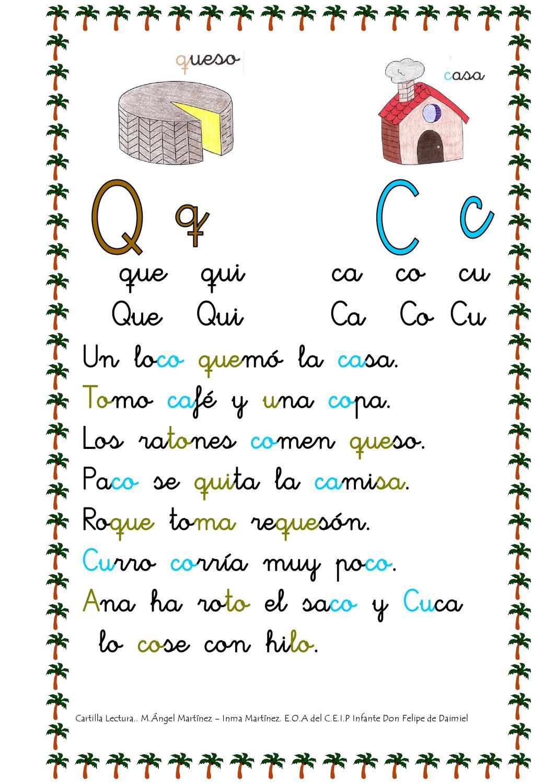 Cartilla de lectura by Equipo Orientación Infante Don