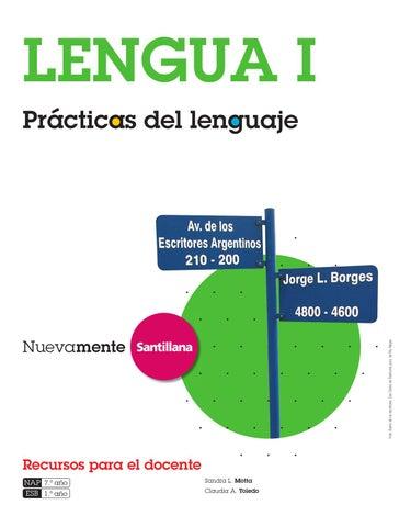 Nuevamente Lengua Prácticas Del Lenguaje 1 By Marcela