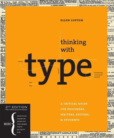 Thinking with Type, 2nd Edition: Sample Pages by Ellen Lupton - issuu