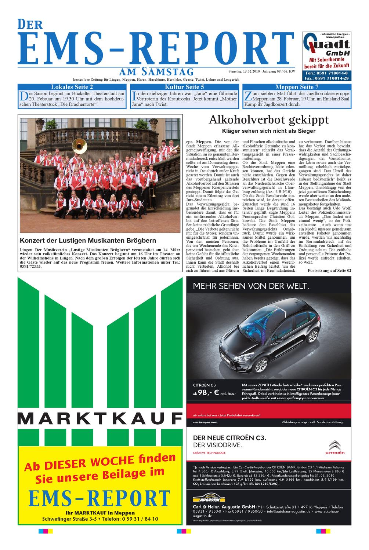 Der Ems-Report Ausgabe Online KW06/10 by Ems-Report GmbH & Co. KG ...