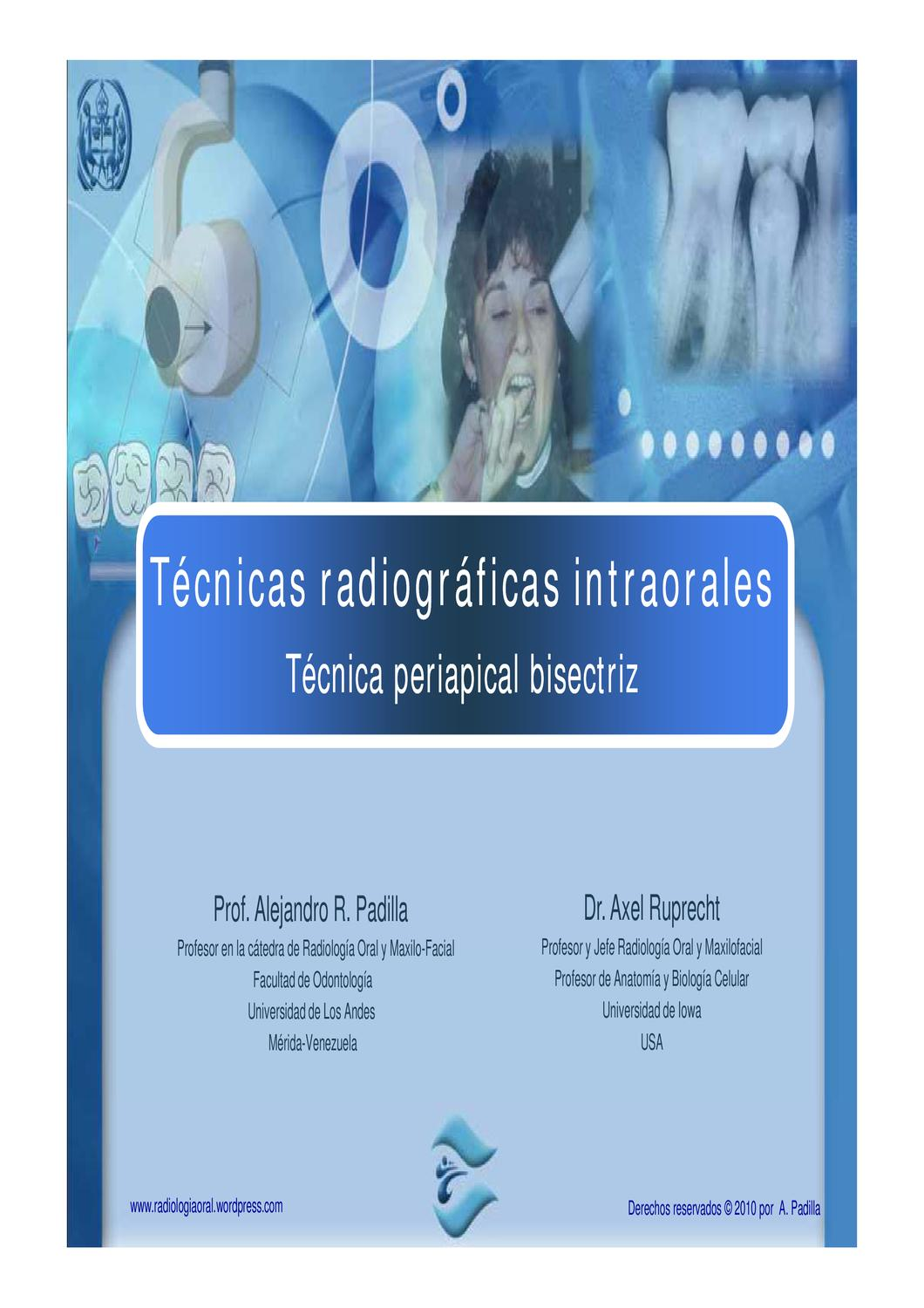 TECNICA PERIAPICAL BISECTRIZ by Alejandro Padilla - issuu