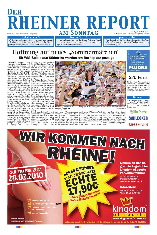 KW 06 By Rheiner Report GmbH   Issuu