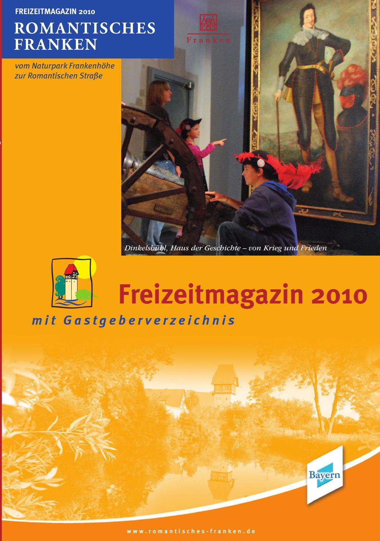 Freizeitmagazin 2010 Romantisches Franken By Manfred Onderka Issuu