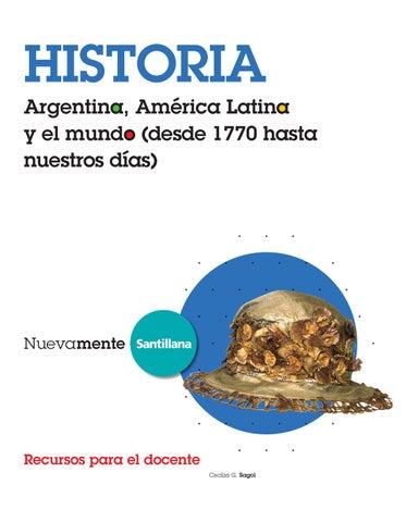 Nuevamente Historia Argentina, América Latina y el mundo (desde 1770 ...