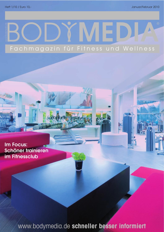 BODYMEDIA Fachmagazin für Fitness und Wellness, Ausgabe Januar ...