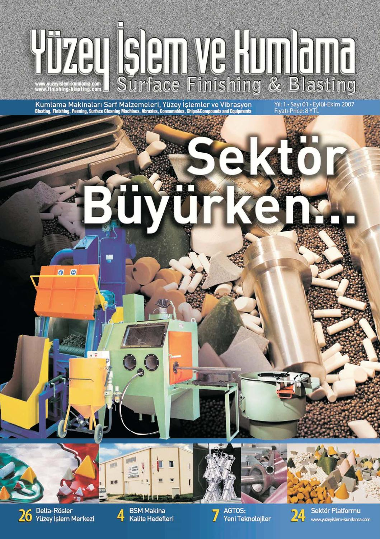 Yuzey Islem Ve Kumlama Dergisi Sayi 1 By Surface Finishing Issuu