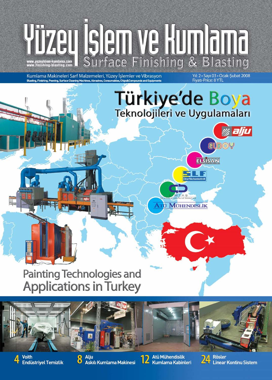 Yuzey Islem Ve Kumlama Dergisi By Surface Finishing Issuu