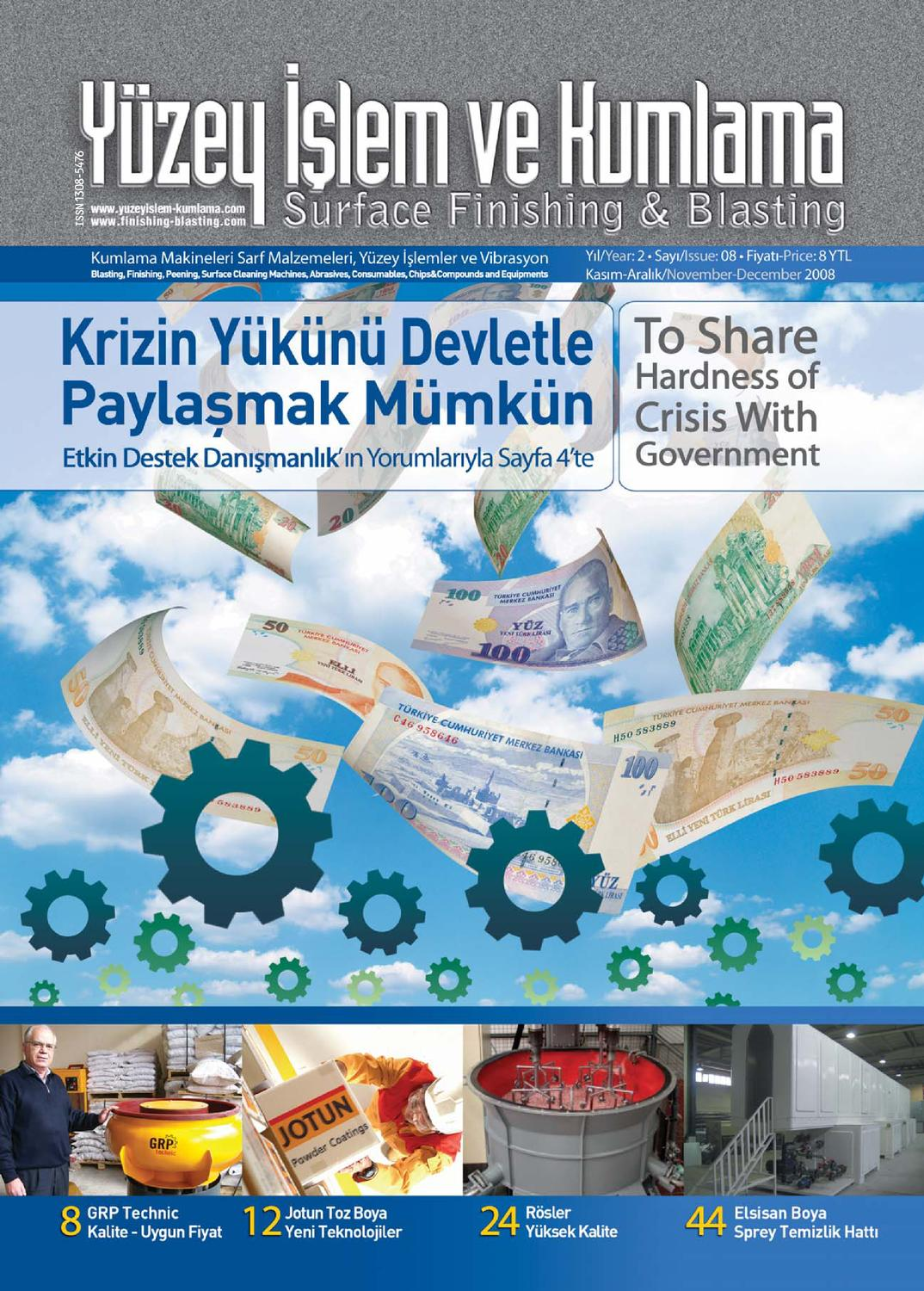 Yuzey Islem Ve Kumlama Dergisi Sayi8 By Surface Finishing Issuu