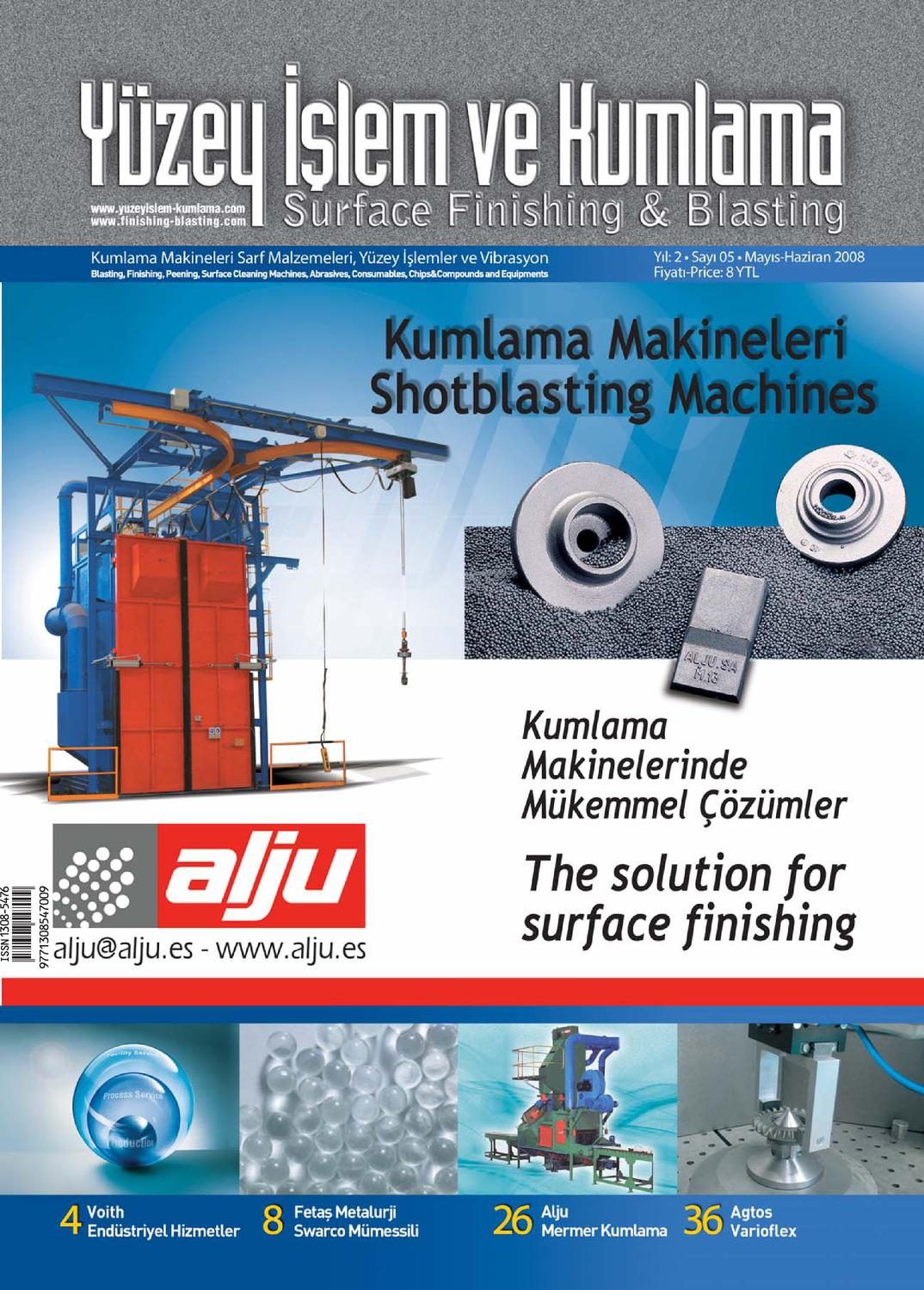 Yuzey Islem Ve Kumlama Dergisi Sayi7 By Surface Finishing Issuu