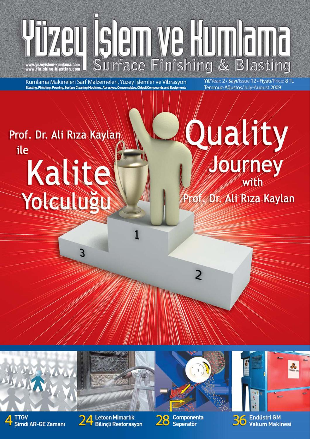 Yuzey Islem Ve Kumlama Dergisi Sayi 12 By Surface Finishing Issuu