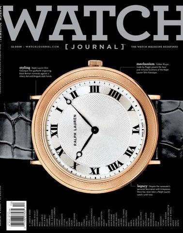 dca9e4519 Watch Journal Issue 2 by sandow media - issuu