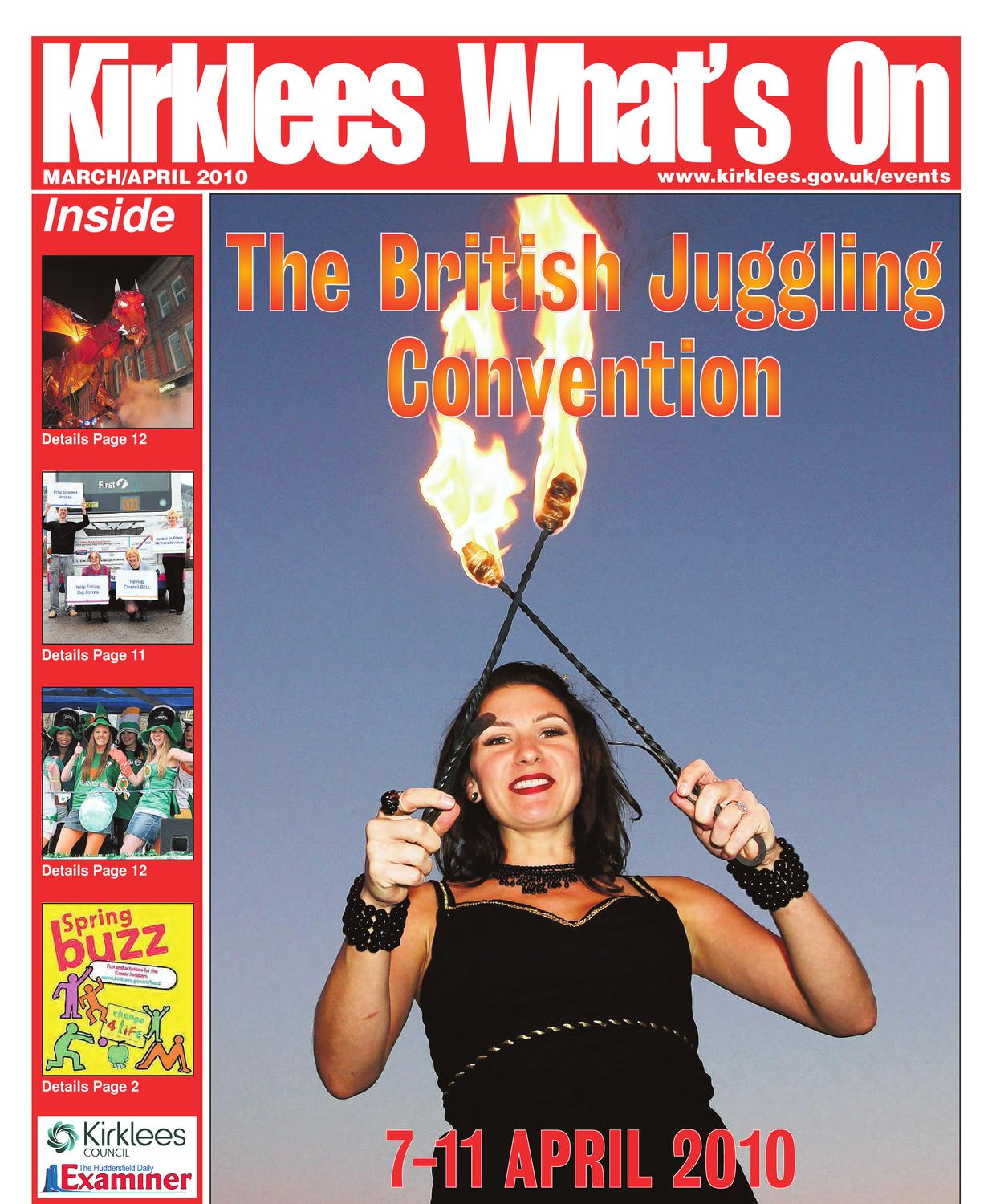Kirklees What\'s On, March/April 2010 by Huddersfield - issuu