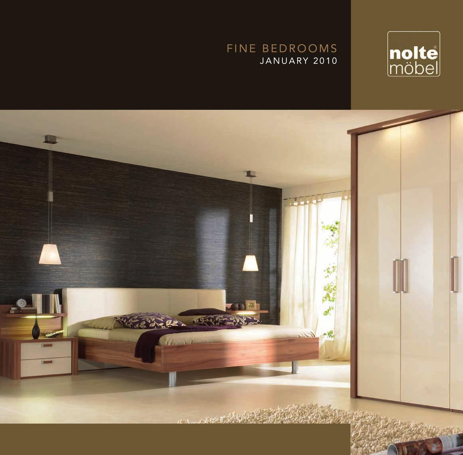 Nolte Bedroom Furniture Nolte Mobel Brochure 2010 By Ben Palmer Issuu