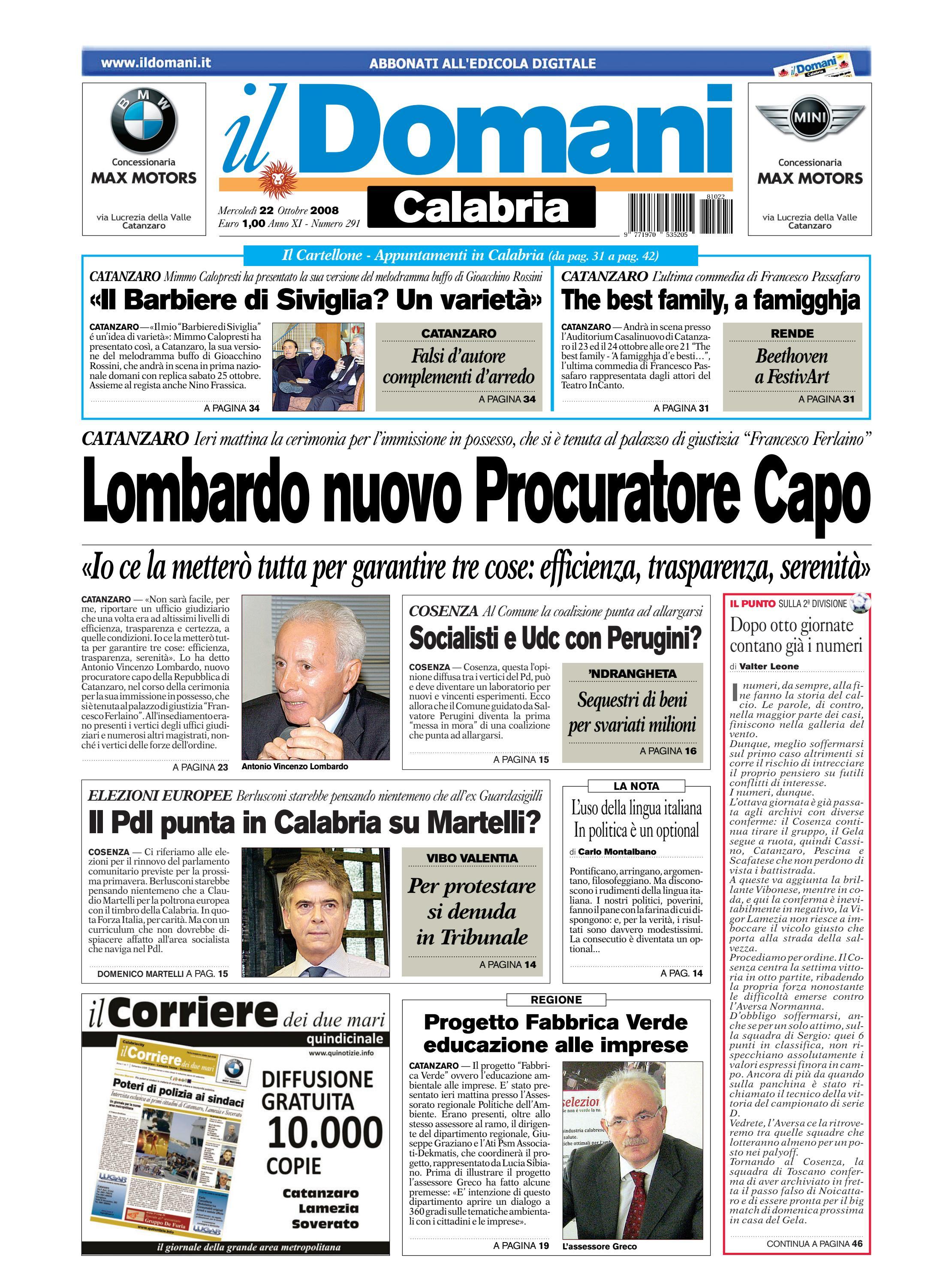 il domani by T P Editori il Domani - issuu 3e5e98555b5