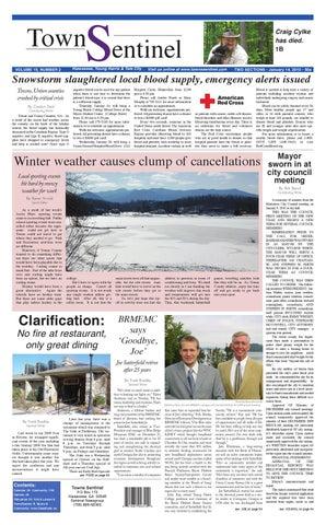 01 14 10 Towns Sentinel By Sentinel News Media Issuu