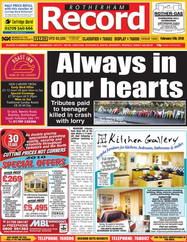 Rotherham Record By Rotherham Advertiser Issuu