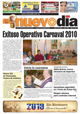 a3a4aaa458fc Diario Nuevodia Jueves 18-02-2010 by Diario Nuevo Día - issuu