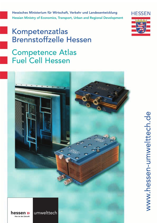 Kompetenzatlas Brennstoffzelle Hessen by Dagmar Dietrich - issuu
