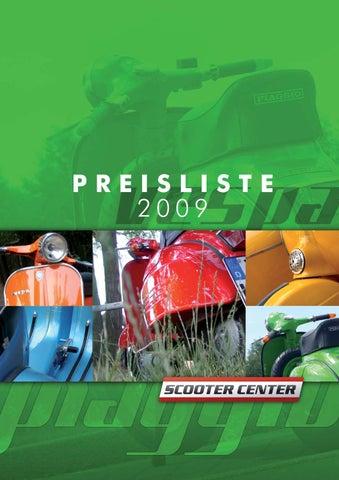Vespa Katalog Pricelist By Scooter Center Gmbh Issuu