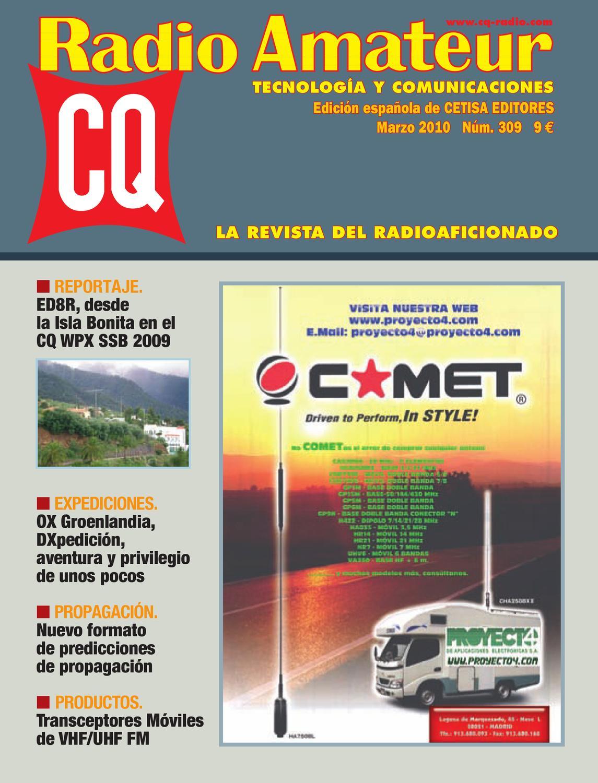 CQRadio-309 by Versys Ediciones Técnicas, S L  - issuu