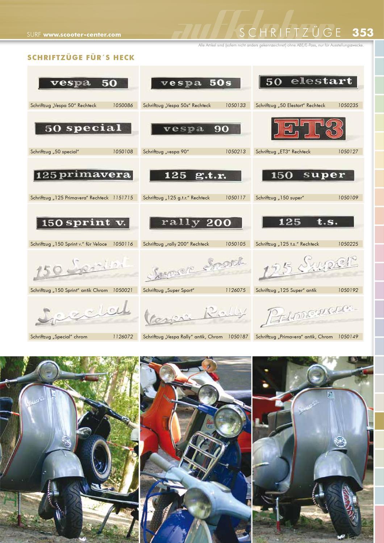 Vespa Manual Katalog By Scooter Center Gmbh Issuu
