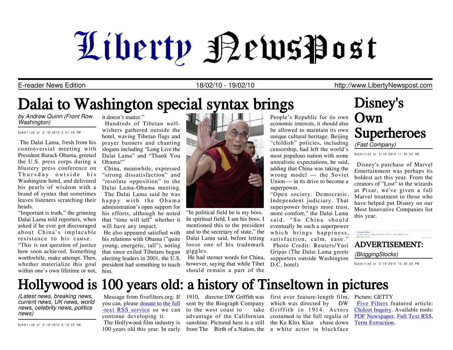 best website a3762 93856 Liberty Newspost Feb-19-10 by Liberty Newspost - issuu