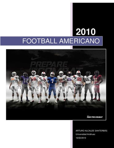 FOOTBALL AMERICANO by arturo a - issuu 8f5949be8ac