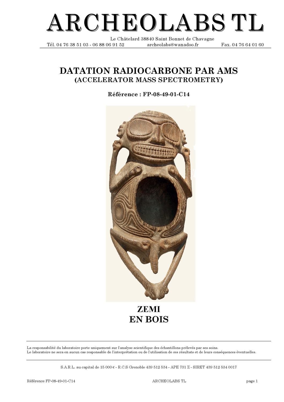 radiocarbone datant cuir