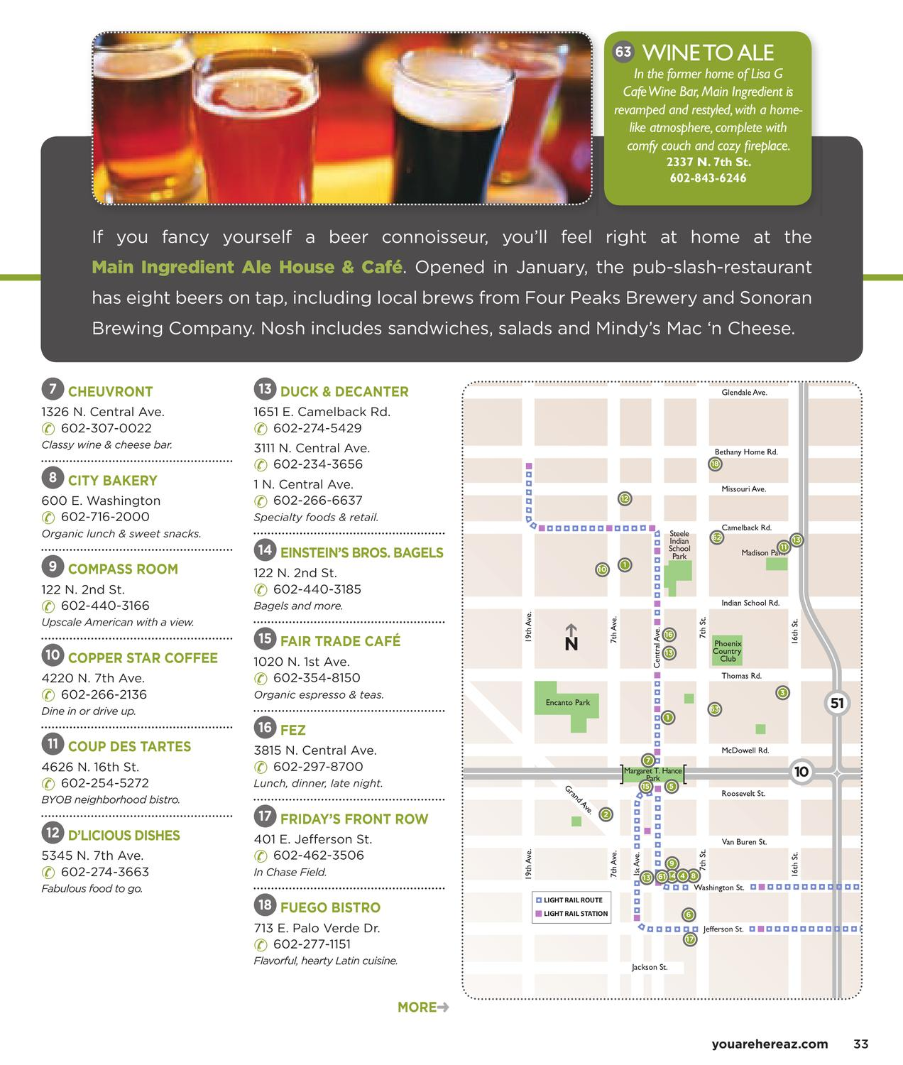 You Are Here Central Phoenix Spring 2010 by InMedia - issuu