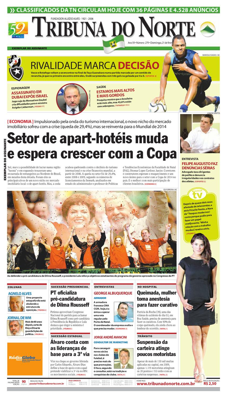 Tribuna do Norte - 21 02 2010 by Empresa Jornalística Tribuna do Norte Ltda  - issuu ff20d2f0b1293