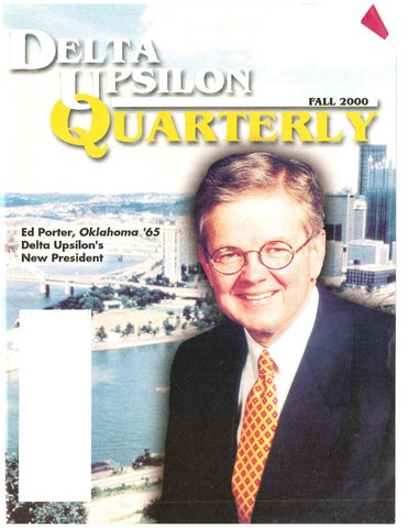 Quarterlyfall2000 By Delta Upsilon Issuu
