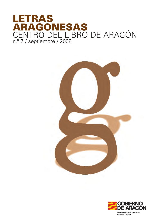 Letras Aragonesas g by Rafael Artal - issuu